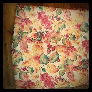 Fall cloth tablecloth autumn design